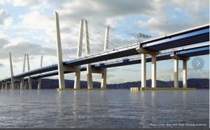 New Tappan Zee Bridge, projected completion 2018. Photo: NYS Thruway.