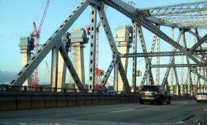 New Tappan Zee Bridge under construction, 5/22/2016. Photo (c) Dianne L. Durante