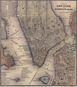 Manhattan in 1847