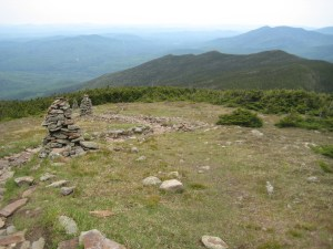 About 100 acres of wide open alpine vegetation cover Moosilauke's summit
