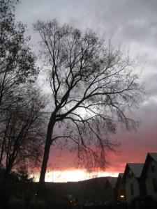 A chilly November dawn in North Adams.