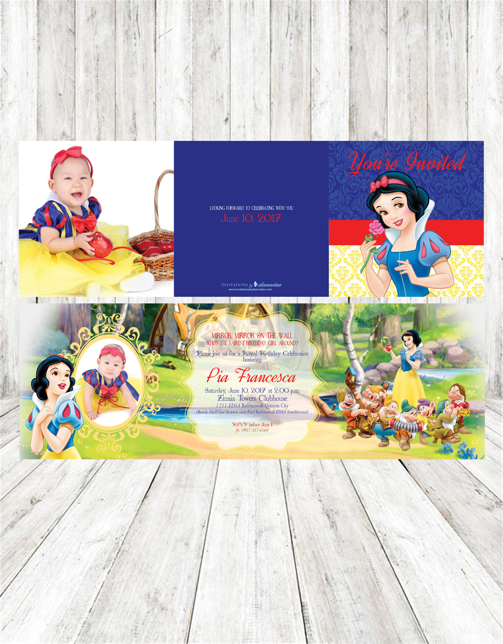 invitations by dianne tan