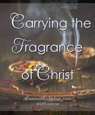 Does a room change because you enter it? When you leave, does the fragrance of love and kindness remain? Our love-filled lives spread the beautiful fragrance of Christ to a hurting world. They are desperate for it.