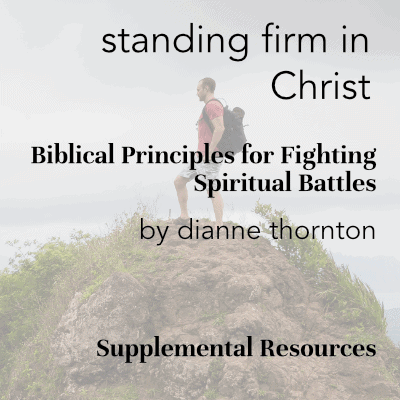 Standing Firm in Christ Supplemental Resources