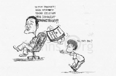 """Rencana Pemutaran dan Diskusi Film """"Samin vs Semen"""" dan """"Alkinemokiye"""" pada Peringatan Hari Buruh Internasional 2015 di Lingkungan FIA UB Ditolak! Mengapa?"""