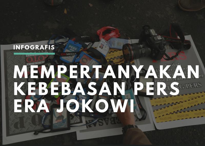 Mempertanyakan Kebebasan Pers Era Jokowi