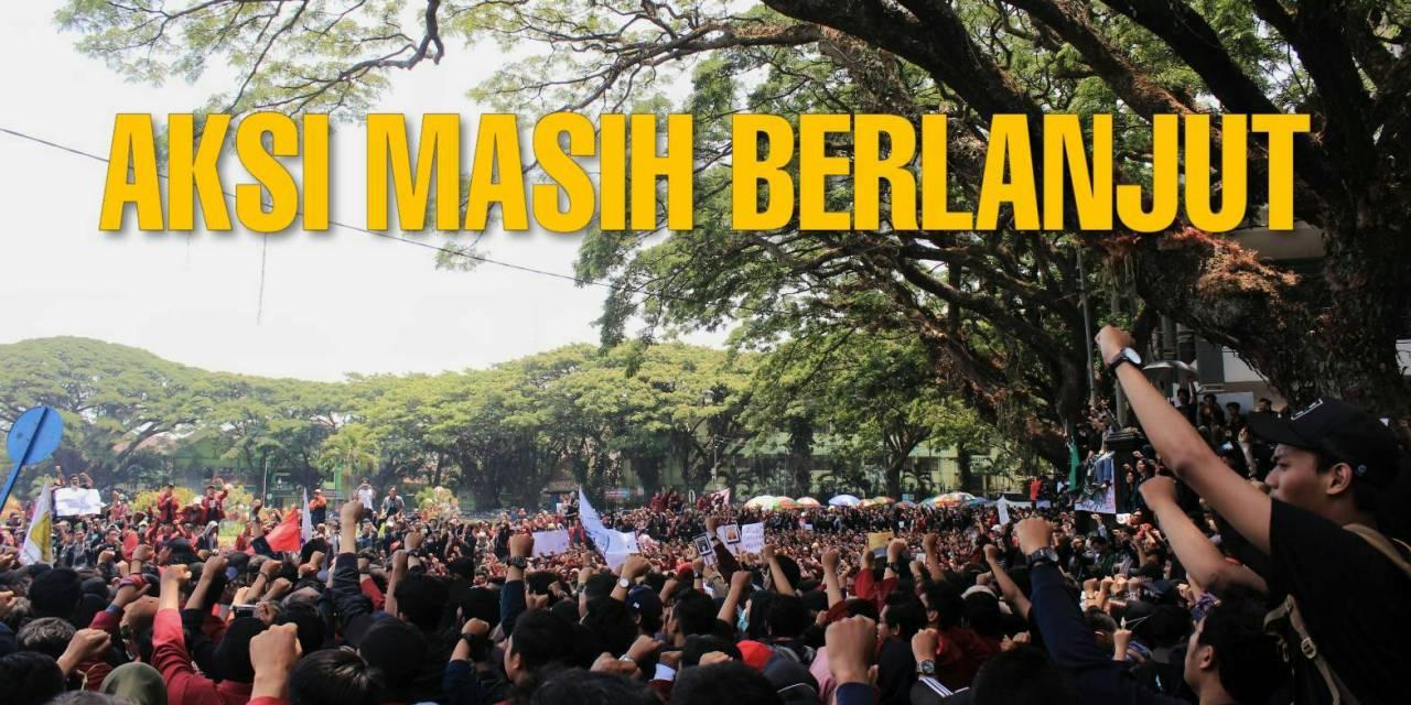 Mosi Tidak Percaya: Aksi Masih Berlanjut
