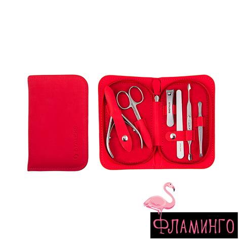 """MS-10 Набор маникюрный """"MULTI"""" Eco (красный) 1"""