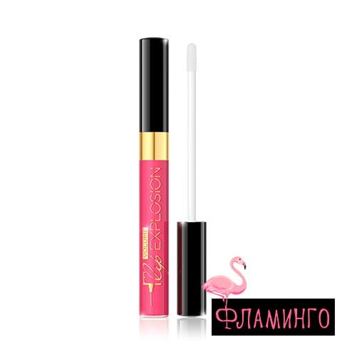 EV Блеск для губ Lip Vol Exp увеличение и объем 438 9мл ярко роз 1