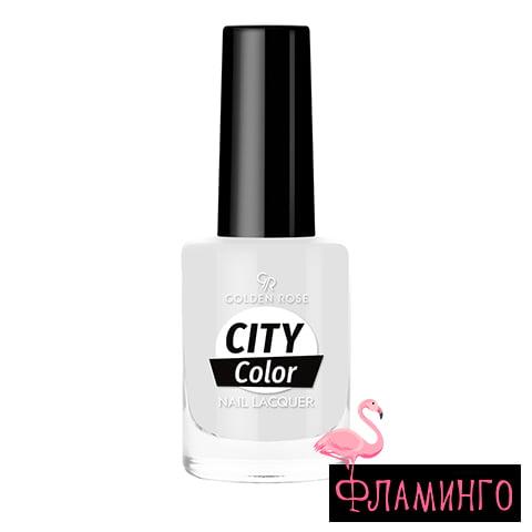 GR CITY COLOR (10,2мл) Лак д/ногтей № 001 1