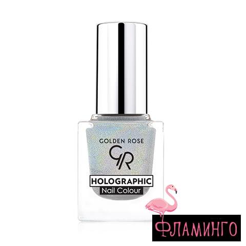 GR Лак д/ногтей HOLOGRAPHIC Nail Colour 01 1