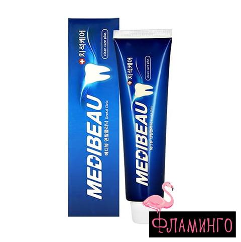JUNA MEDIBEAU Зубная паста DENTAL CLINIC Blue Комплексный уход 120гр (*60) 1