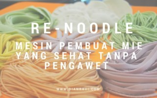 mie sehat dengan re-noodle