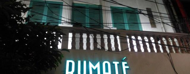 Rumate Kedai Teh Lokal di Jalan Sabang