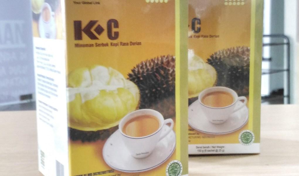 kopi untuk kesehatan k-coffee durian