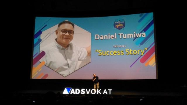 Daniel Tumiwa CEO dan Founder ADSvokat