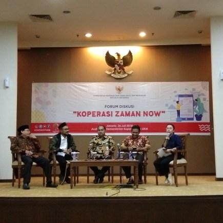 forum diskusi koperasi zaman now