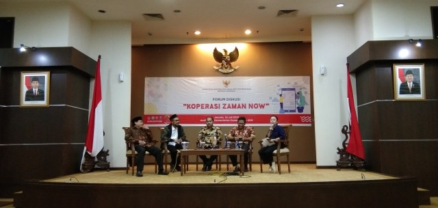 forum diskusi koperasi zaman now