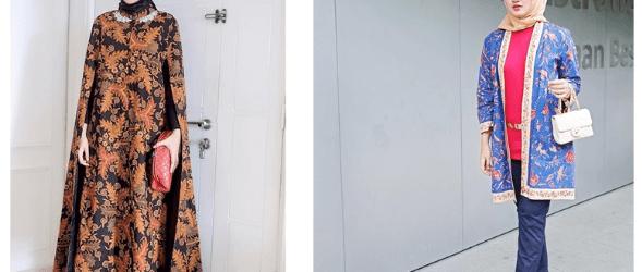 Model baju batik modern untuk pesta