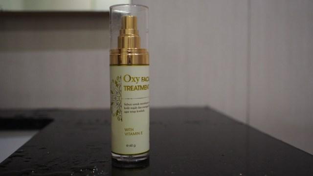 detox wajah dengan facial treatment oxyglow