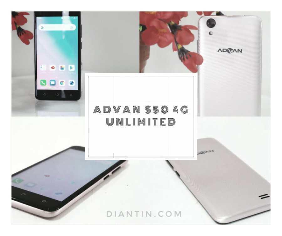 Advan S50 4G Unlimited - diantin.com