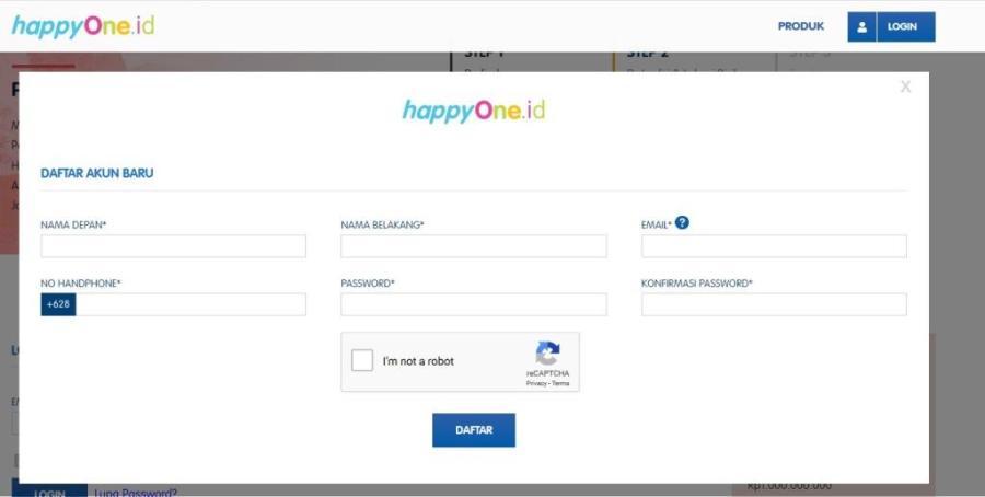 daftar happyOne.id - diantin