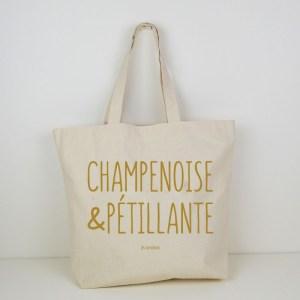 Cabas Champenoise et Pétillante