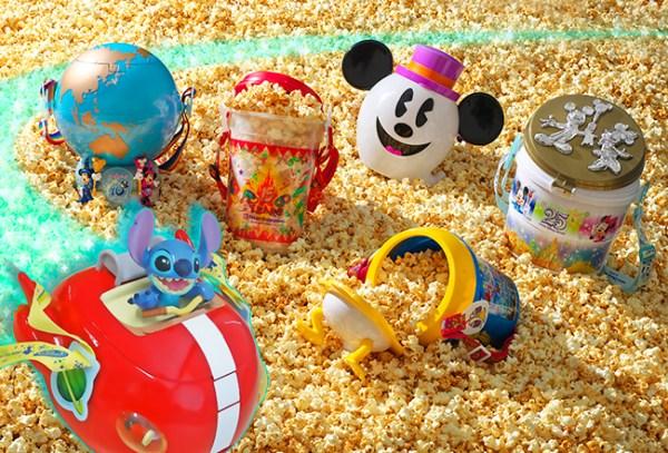 Popcorn Bucket, Flavored Popcorn, Tokyo Disneyland, Tokyo Disney Sea, Family, Travel, Mickey Mouse, Souvenier