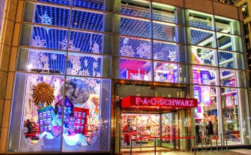 FAO Schwarz, Toy Store, Massive Toy Store, NYC Toy Store, Manhattan Toy Store, diapersonaplane, Diapers On A Plane, traveling with kids, family travel, creating family emmories