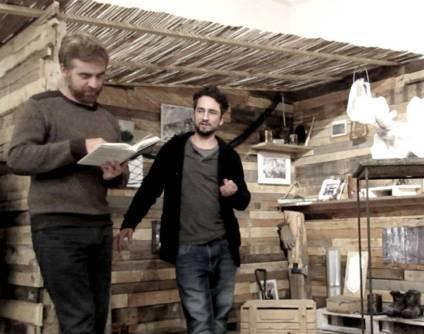 Paolo Cognetti e Daniele Girardi a Bivacco 17 presso galleria La Giarina