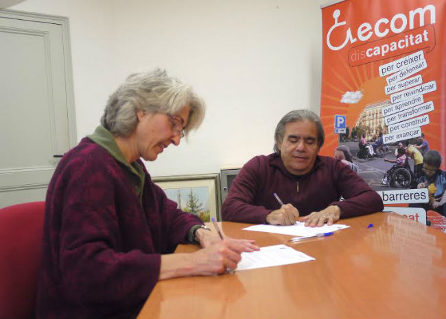 signatura conveni ecom i favb