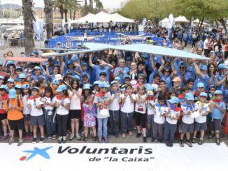 dia de voluntaris de la Caixa