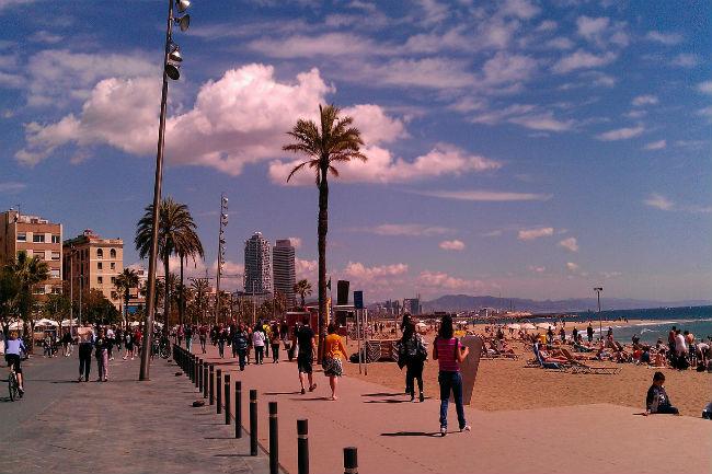 platges Barcelona