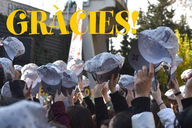 festa posat la gorra afanoc barcelona