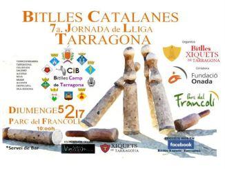 cartell lliga catalana bitlles catalanes parc francolí
