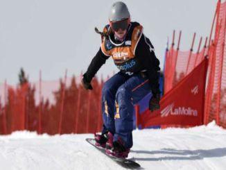 astrid fina snowboard medalles plata La Molina