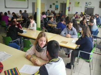 alumnes visita centre ocupacional mifas