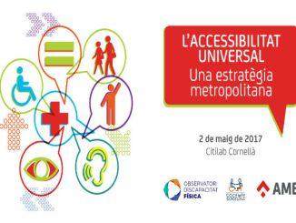 cartell jornada accessibilitat municipis amb cocemfe bcn