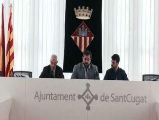 presentació final lliga catalana bàsquet cadira rodes sant cugat