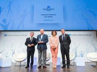 fundació ave maria guardonada premi innovació social la caixa