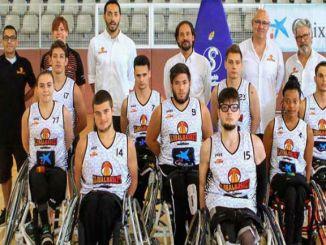 global basket uab escoles bàsquet cadira de rodes
