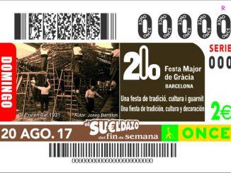 Cupón 200 Aniversari Festa Major de Gràcia 20-08-2017_CEROS