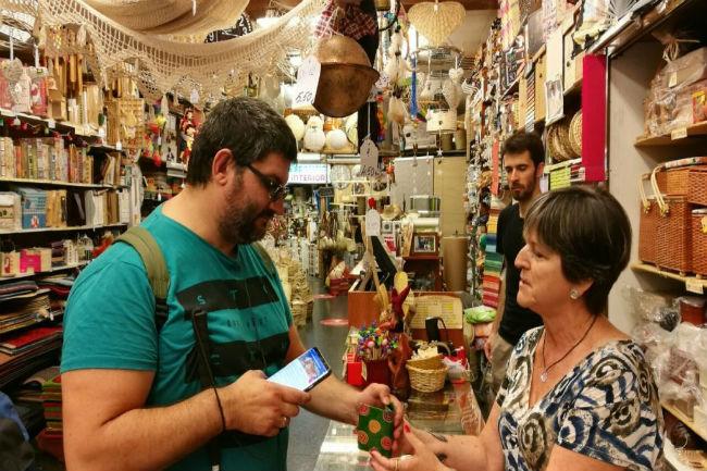 comerços accessibles aplicació mòbil barcelona sense barreres