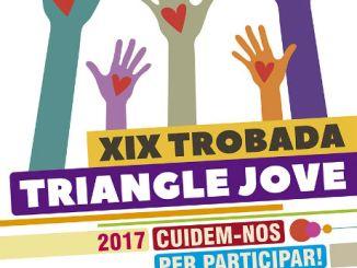cartell trobada triangle jove entitats juvenils