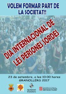 granollers dia internacional persones sordes societat fesoca
