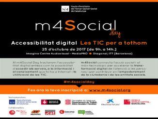 cartell jornada accessibilitat digital tic