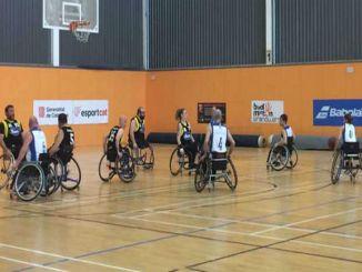 intens lliga catalana bàsquet cadira rodes