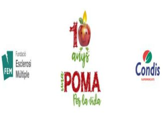 cartell campanya una poma per la vida esclerosi múltiple
