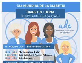 cartell dones dia mundial de la diabetis