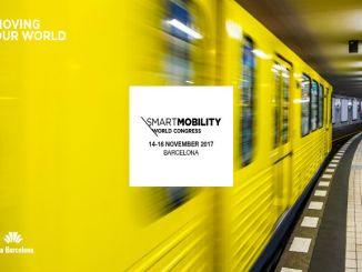 cartell tram smart mobility world congress barcelona